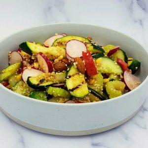 summer salad, vegmeup, vegan, plant based, food box